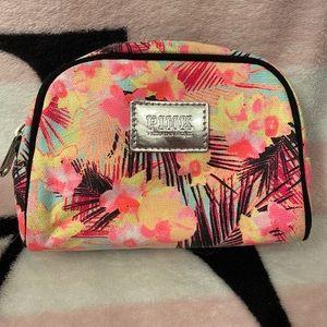 VS Pink Tropical Mini Makeup Bag Cosmetic Case